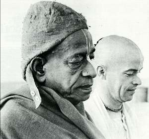 Srila Prabhupada and Kirtanananda Swami