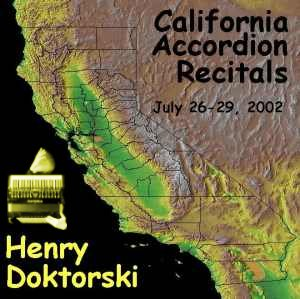 California Recitals CD