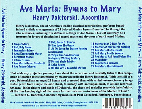 Hymns to Mary Traycard